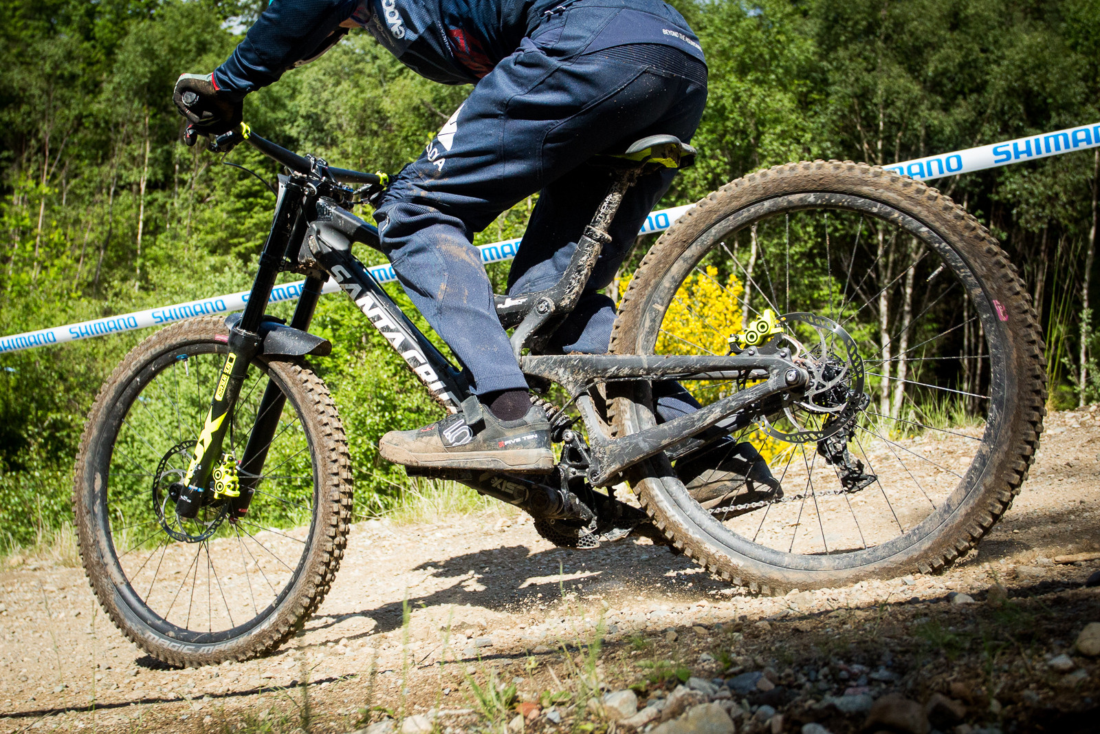 Santa Cruz V10 - G-Out Project, Fort William - Mountain Biking Pictures - Vital MTB