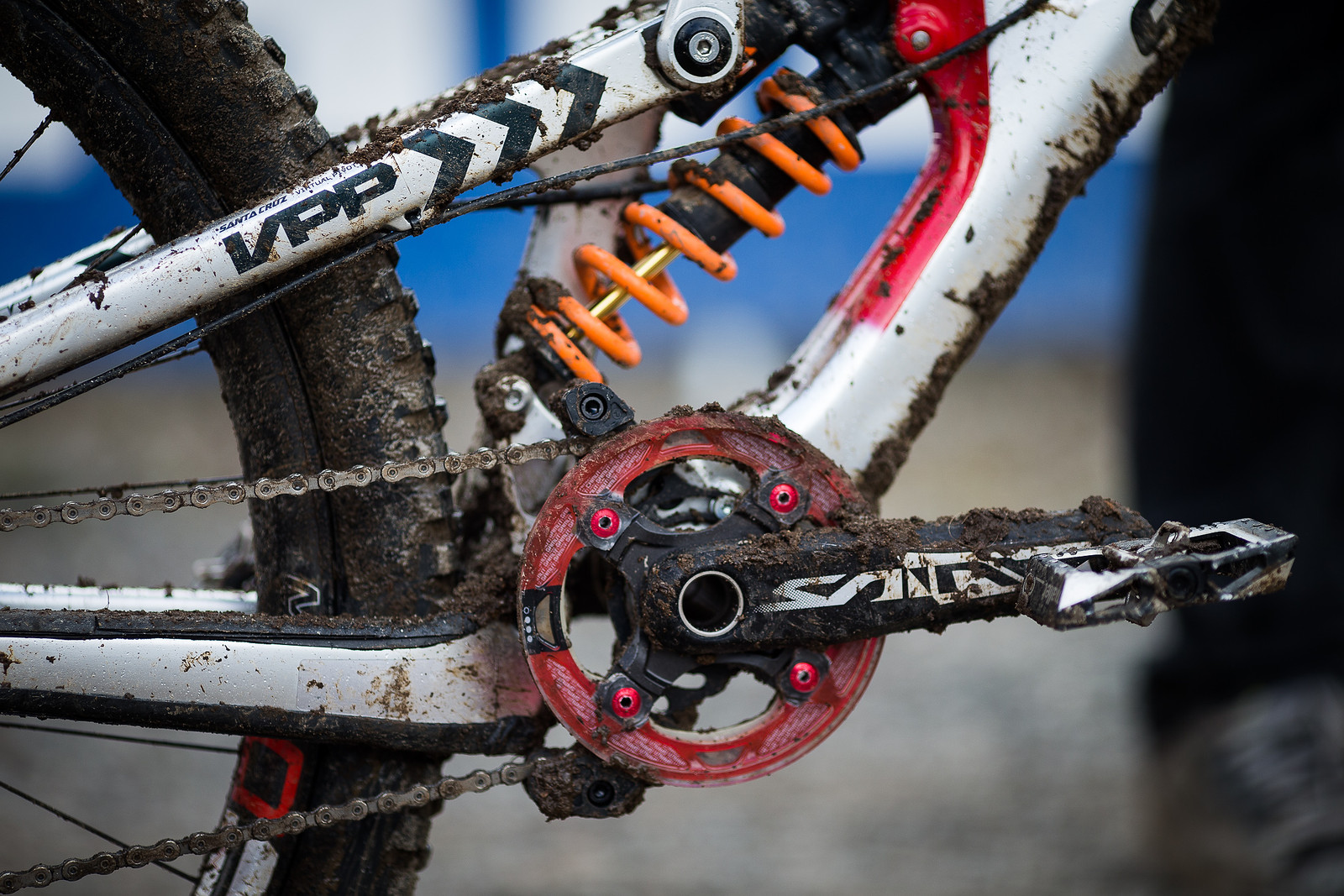 Gamut and Shimano Saint - WINNING BIKE: Greg Minnaar's Santa Cruz V10 29er - Mountain Biking Pictures - Vital MTB