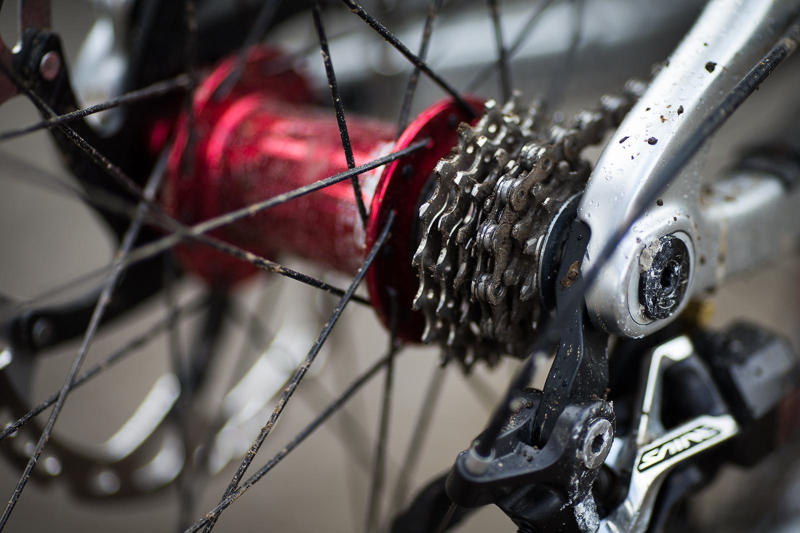 Tight Shimano Cassette - WINNING BIKE: Greg Minnaar's Santa Cruz V10 29er - Mountain Biking Pictures - Vital MTB