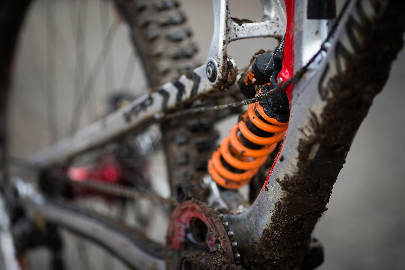 FOX DHX2 Coil Shock - WINNING BIKE: Greg Minnaar's Santa Cruz V10 29er - Mountain Biking Pictures - Vital MTB