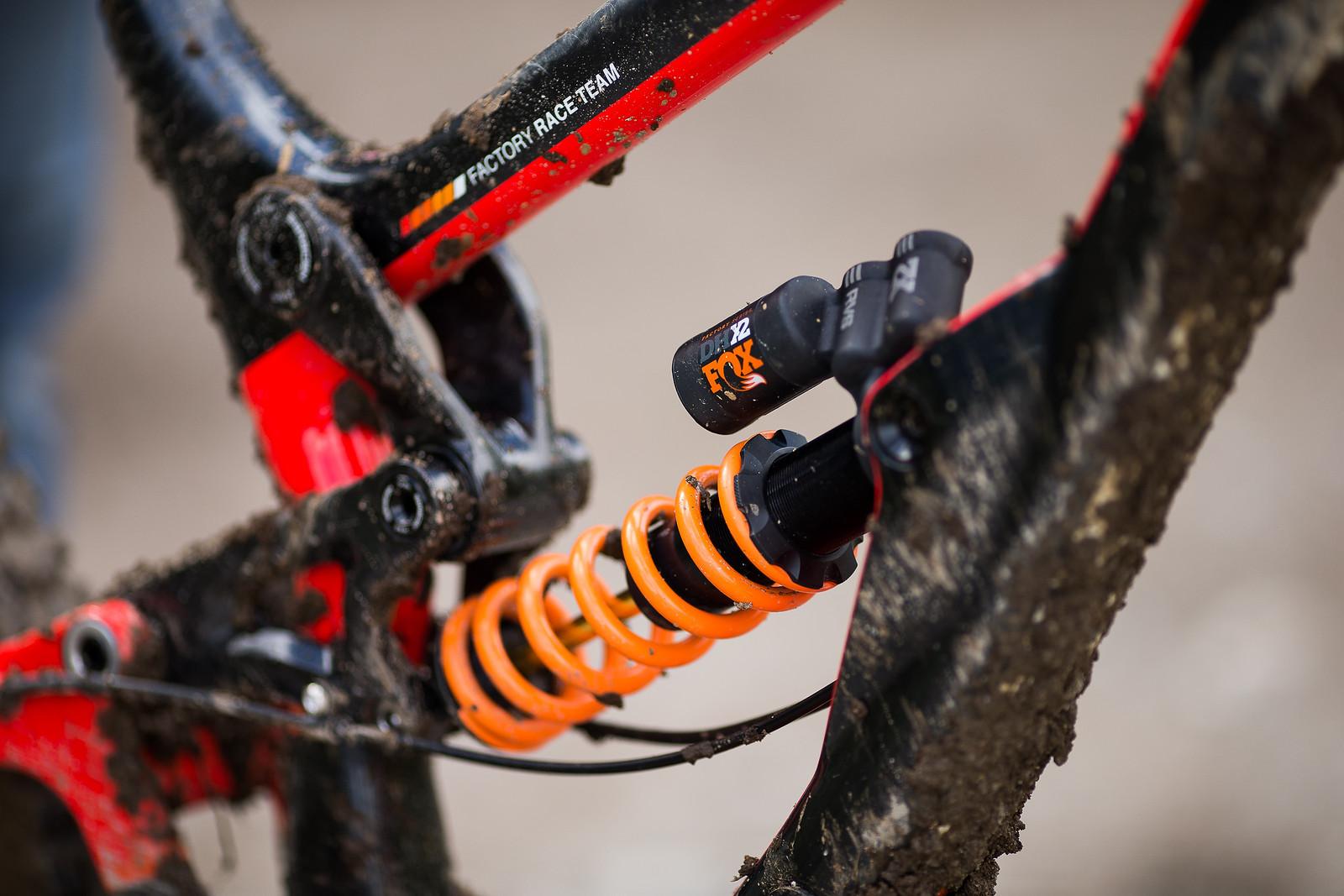 FOX DHX2 Coil - WINNING BIKE: Matt Walker's Saracen Myst - Mountain Biking Pictures - Vital MTB