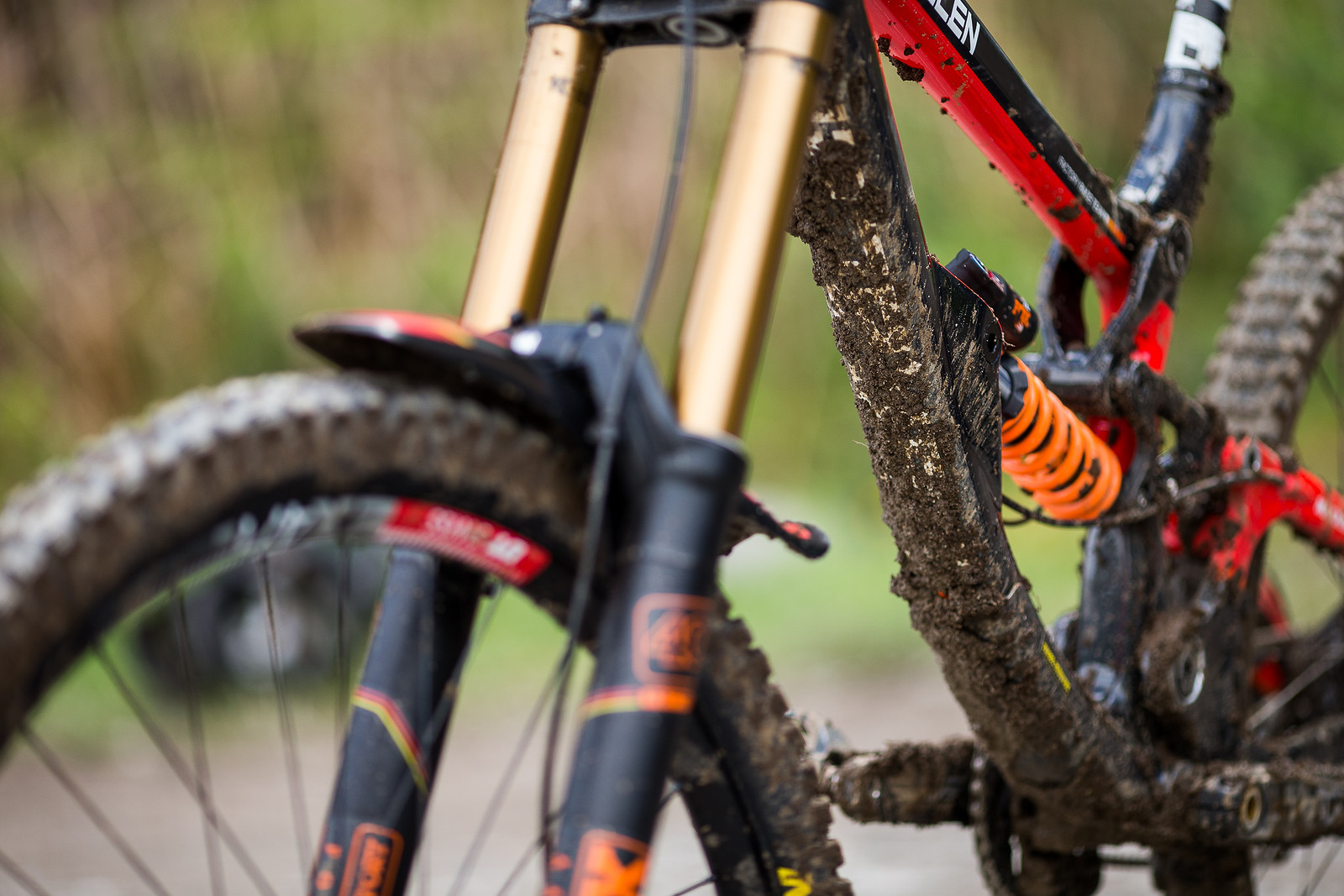 FOX DHX2 Coil Shock - WINNING BIKE: Matt Walker's Saracen Myst - Mountain Biking Pictures - Vital MTB