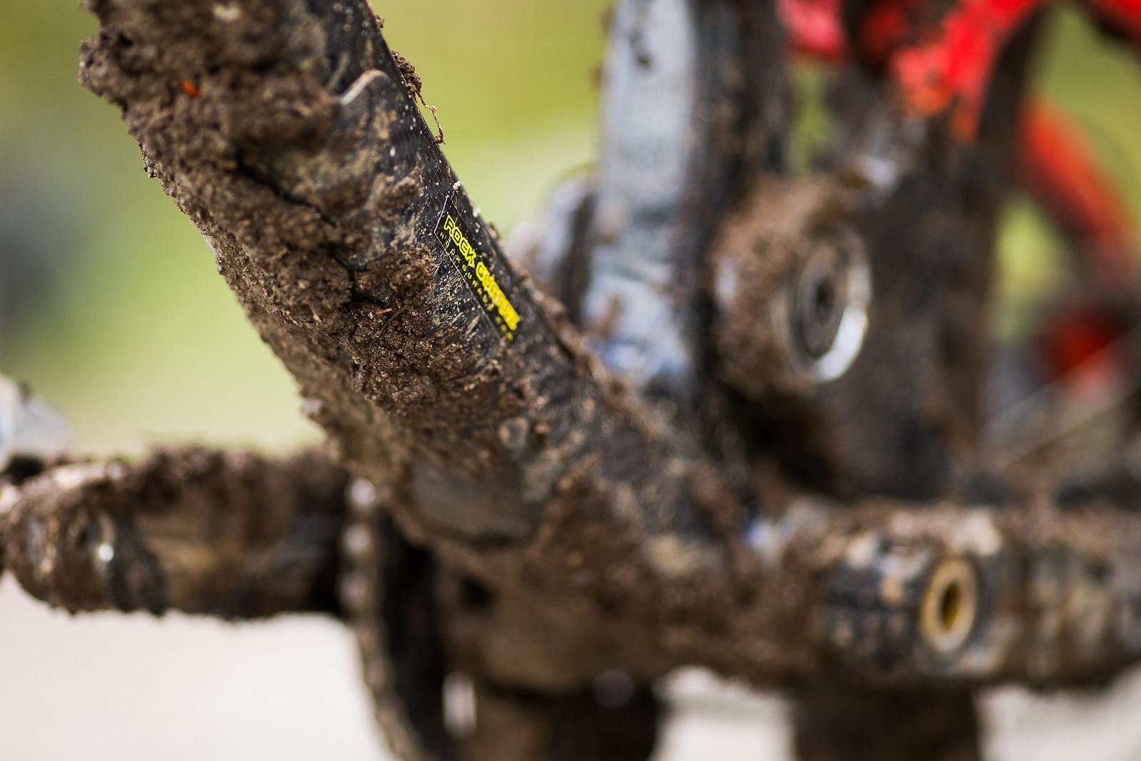 Peanut Butter Mud - WINNING BIKE: Matt Walker's Saracen Myst - Mountain Biking Pictures - Vital MTB