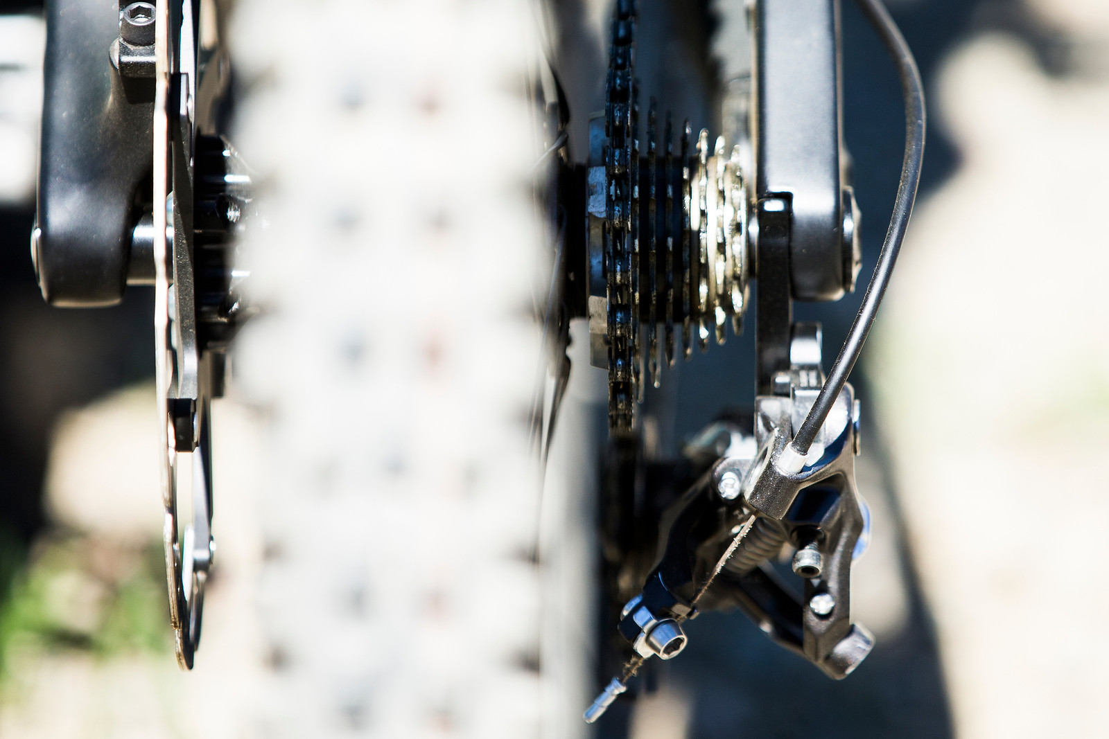 Shimano Cassette Cluster - WINNING BIKE: Tahnee Seagrave's Prototype Transition - Mountain Biking Pictures - Vital MTB