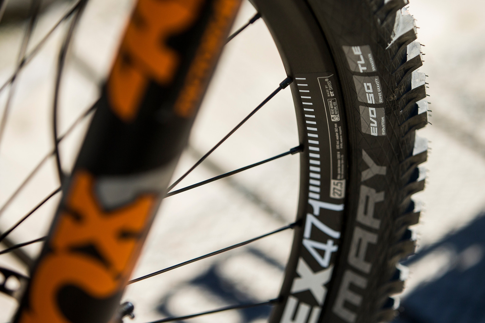 Schwalbe Magic Mary Tires - WINNING BIKE: Tahnee Seagrave's Prototype Transition - Mountain Biking Pictures - Vital MTB