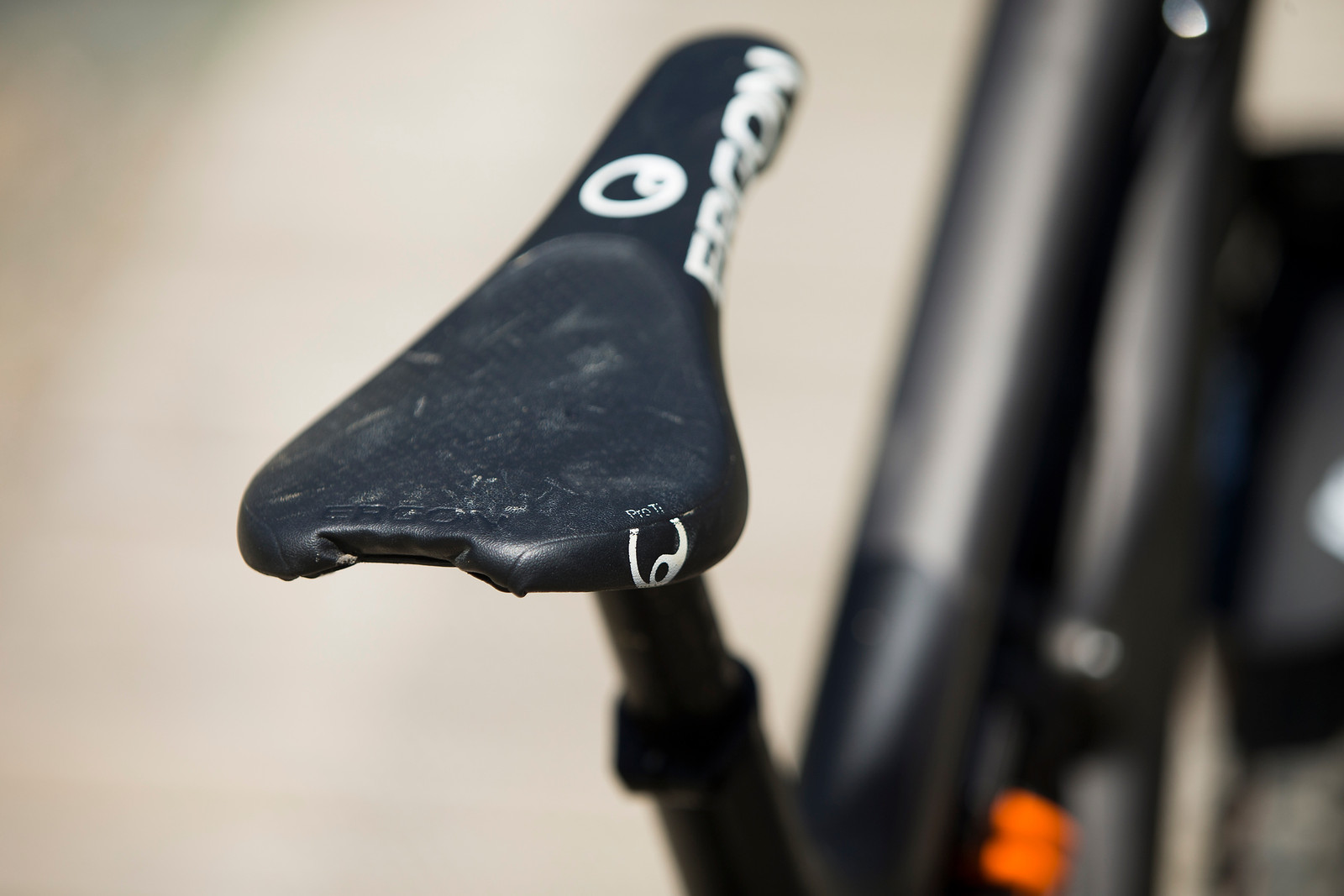 Ergon SMD2 DH Saddle - WINNING BIKE: Tahnee Seagrave's Prototype Transition - Mountain Biking Pictures - Vital MTB
