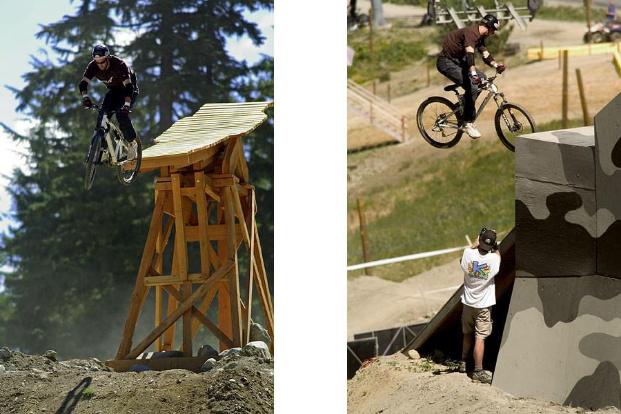 Crankworx 2004, Kirt Voreis - Crankworx of The Past - Photos from 2004-2007 - Mountain Biking Pictures - Vital MTB