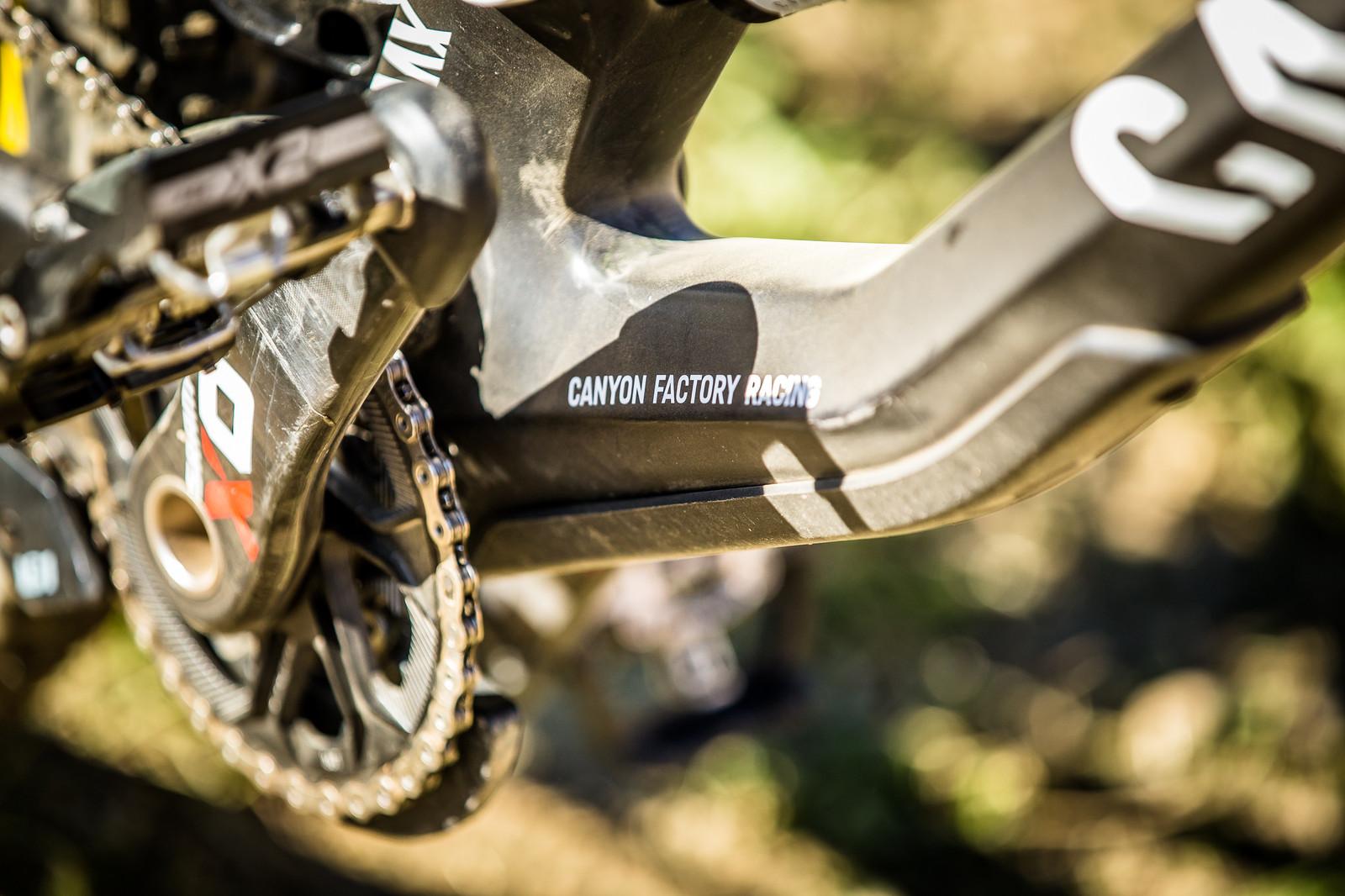 Troy Brosnan's Canyon Sender - WINNING BIKE: Troy Brosnan's Canyon Sender - Mountain Biking Pictures - Vital MTB
