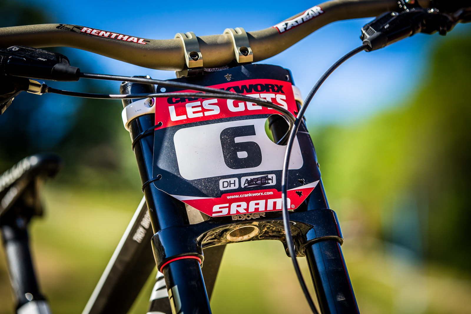Number 1 Now - WINNING BIKE: Troy Brosnan's Canyon Sender - Mountain Biking Pictures - Vital MTB