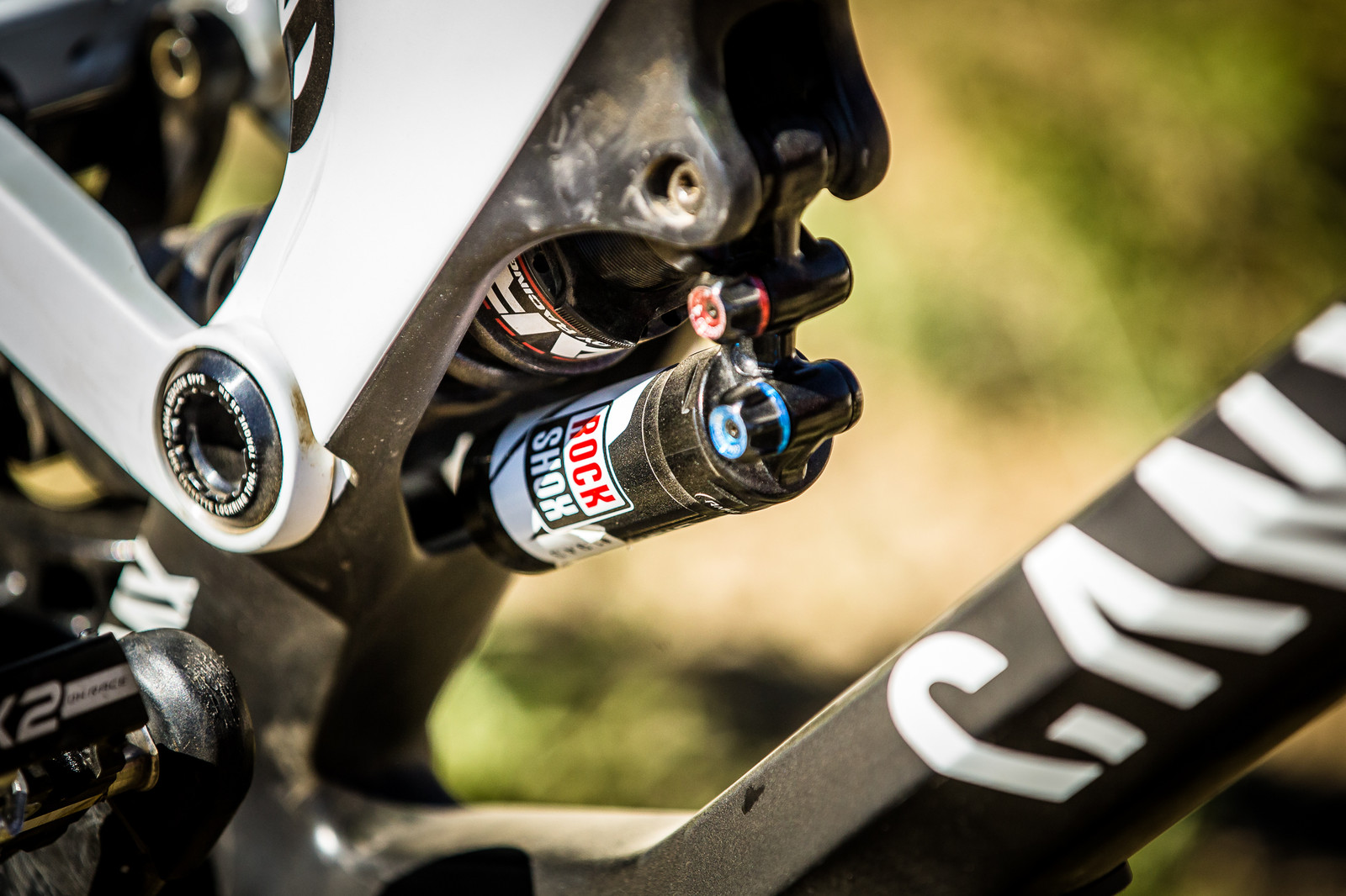 RockShox Vivid Coil Rear Shock - WINNING BIKE: Troy Brosnan's Canyon Sender - Mountain Biking Pictures - Vital MTB