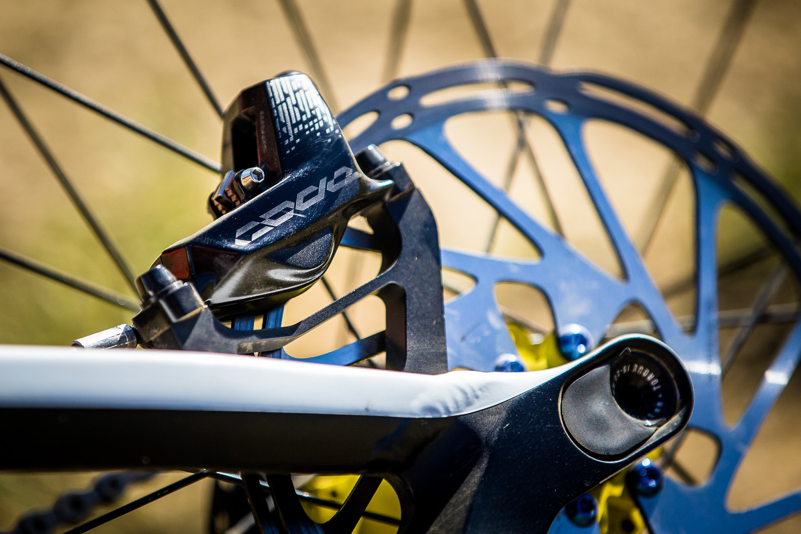 SRAM CODE Brakes - WINNING BIKE: Troy Brosnan's Canyon Sender - Mountain Biking Pictures - Vital MTB