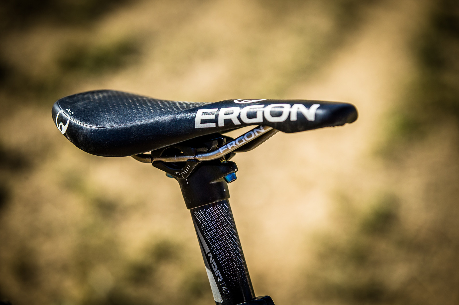Ergon SMD2 Ti Saddle - WINNING BIKE: Troy Brosnan's Canyon Sender - Mountain Biking Pictures - Vital MTB