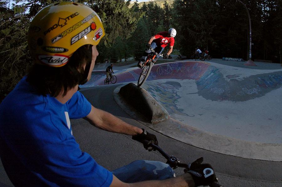 Crankworx 2005, Off-time - Crankworx of The Past - Photos from 2004-2007 - Mountain Biking Pictures - Vital MTB