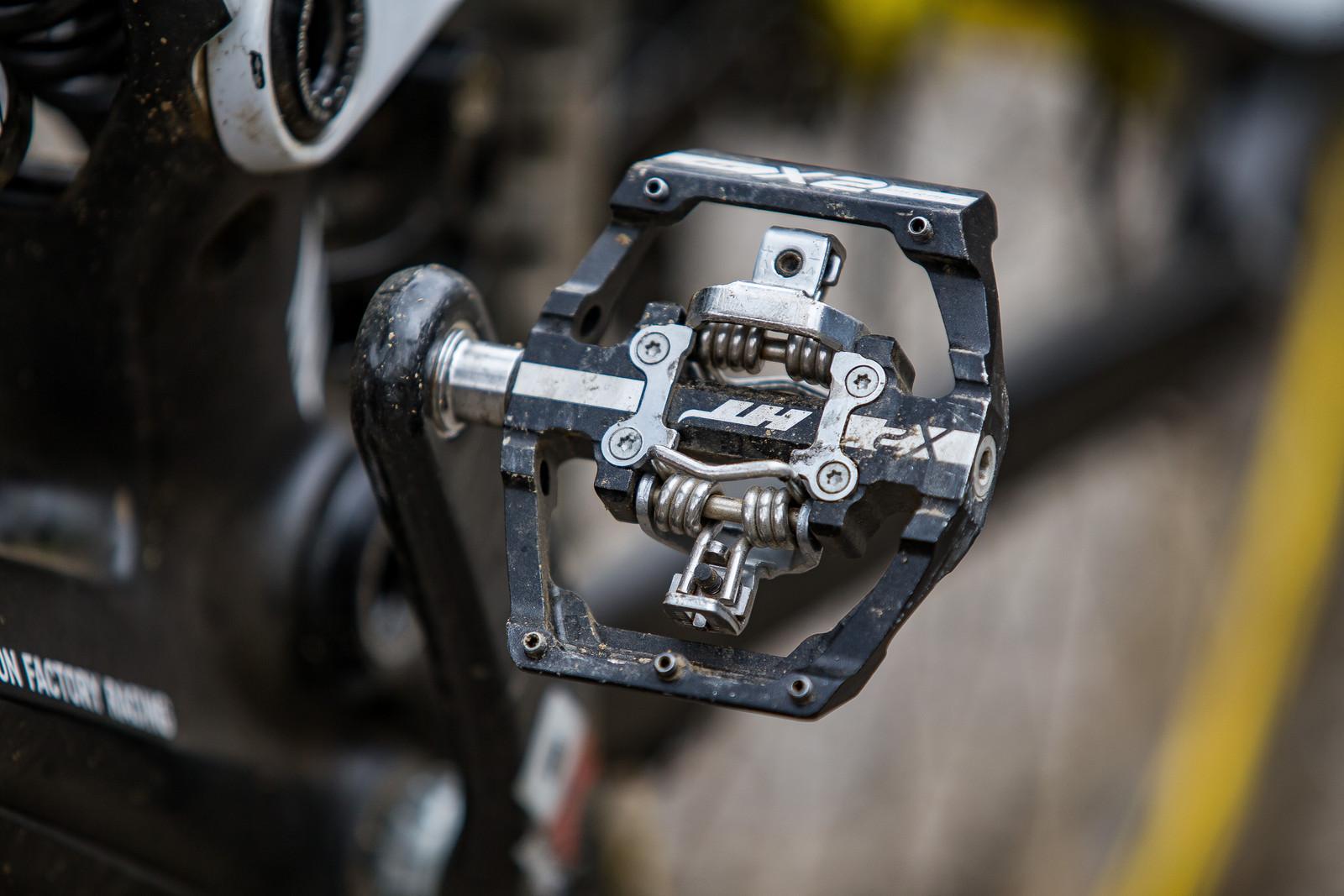 HT X2 Pedals - WINNING BIKE: Troy Brosnan's Canyon Sender - Mountain Biking Pictures - Vital MTB