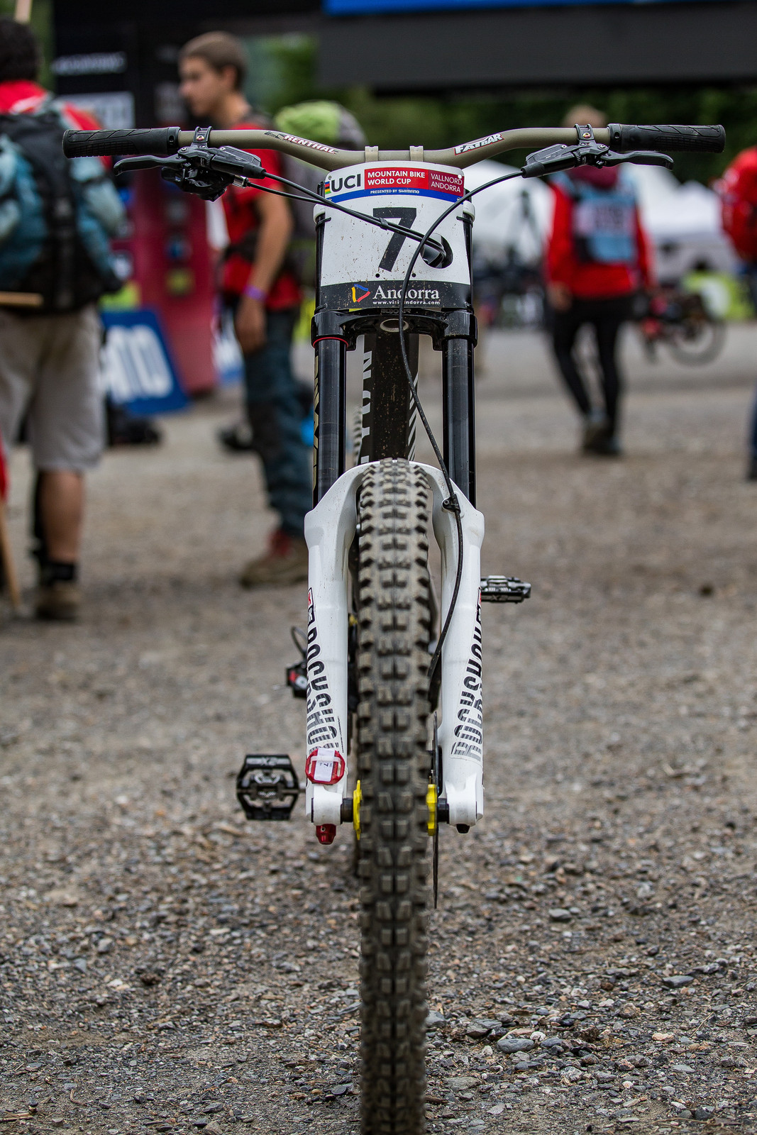 Watch That Plate Number Go Down - WINNING BIKE: Troy Brosnan's Canyon Sender - Mountain Biking Pictures - Vital MTB