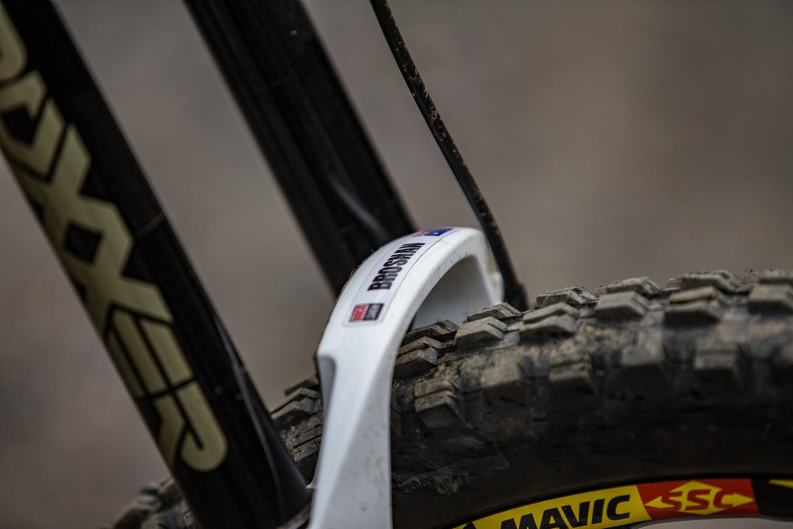 RockShox BoXXer - WINNING BIKE: Troy Brosnan's Canyon Sender - Mountain Biking Pictures - Vital MTB