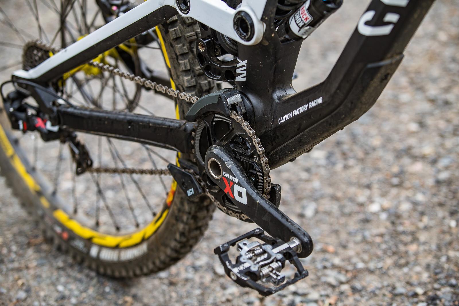 36t Chainring - WINNING BIKE: Troy Brosnan's Canyon Sender - Mountain Biking Pictures - Vital MTB