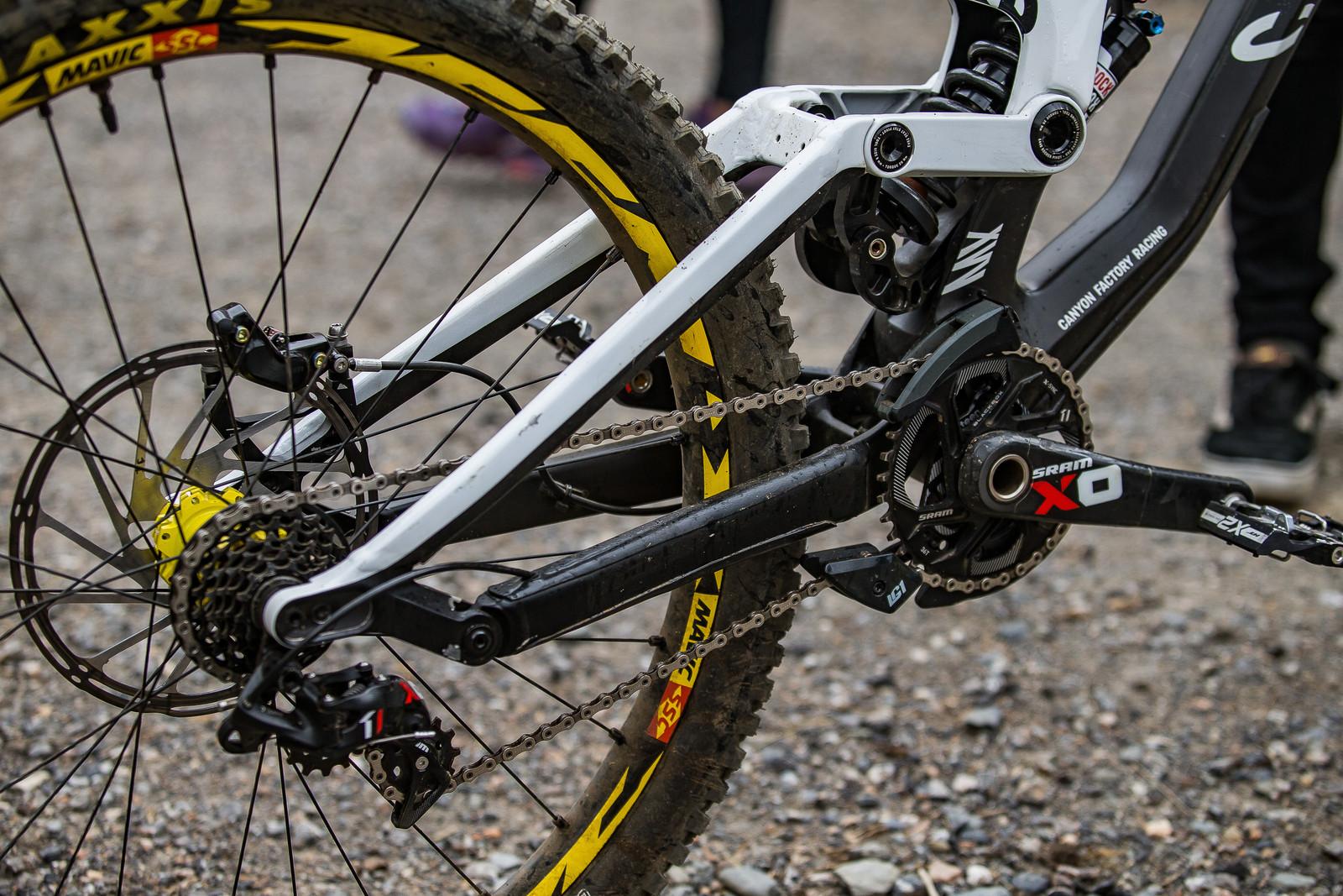 Canyon Sender - WINNING BIKE: Troy Brosnan's Canyon Sender - Mountain Biking Pictures - Vital MTB