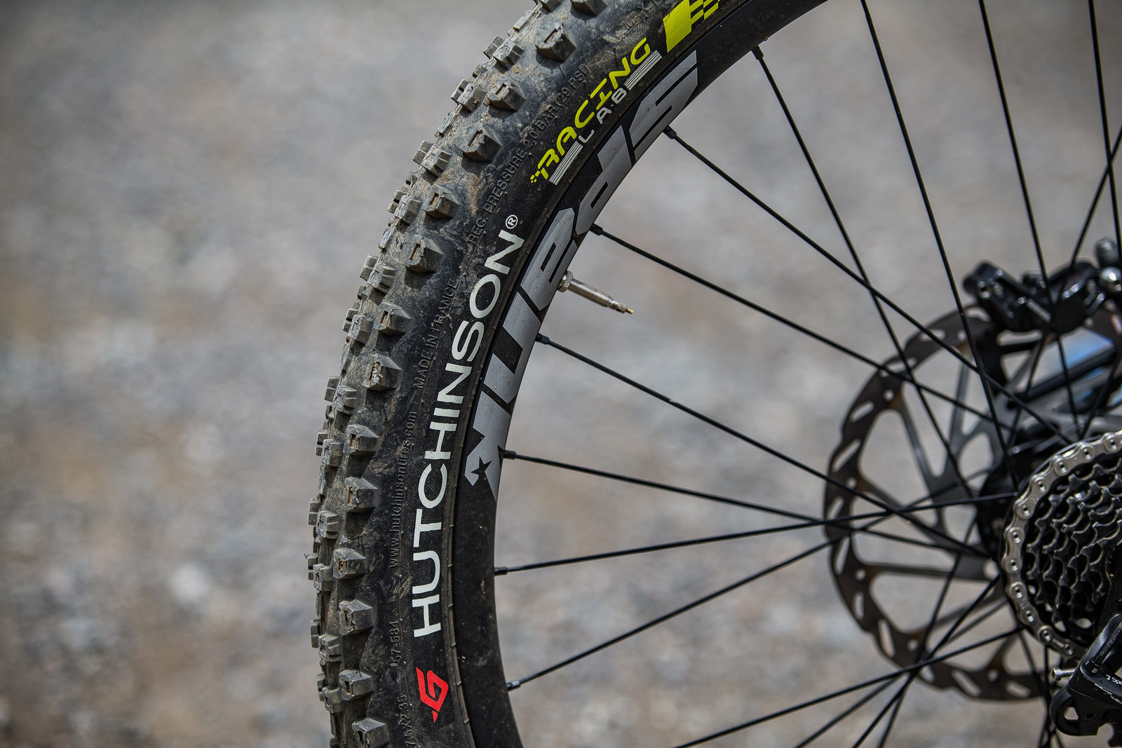 Hutchinson Race Lab Toro Tires - WINNING BIKE: Myriam Nicole's Commencal Supreme DH V4 - Mountain Biking Pictures - Vital MTB
