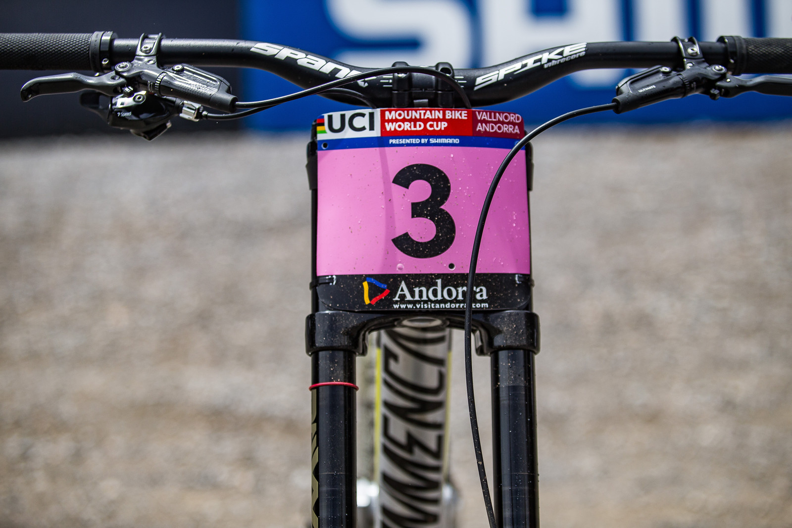 Swap That 3 for a 2 Now! - WINNING BIKE: Myriam Nicole's Commencal Supreme DH V4 - Mountain Biking Pictures - Vital MTB