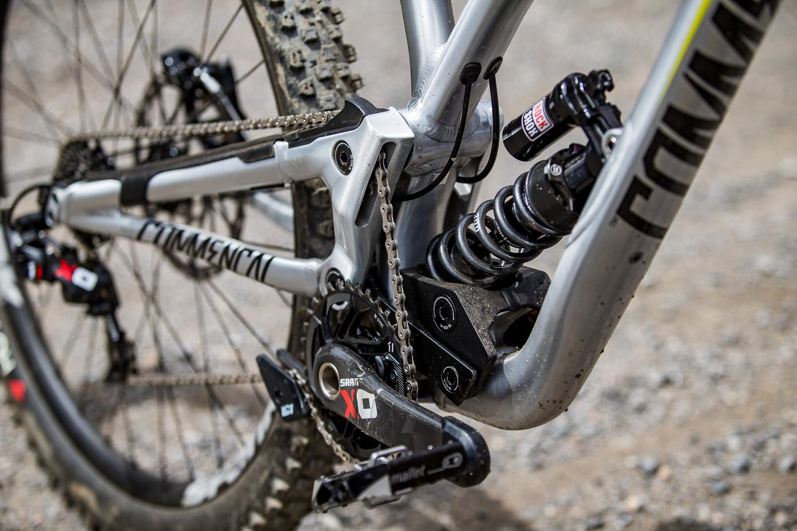 RockShox Vivid Coil Shock - WINNING BIKE: Myriam Nicole's Commencal Supreme DH V4 - Mountain Biking Pictures - Vital MTB