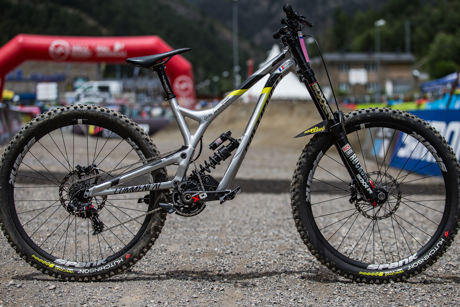 WINNING BIKE: Myriam Nicole's Commencal Supreme DH V4 - WINNING BIKE: Myriam Nicole's Commencal Supreme DH V4 - Mountain Biking Pictures - Vital MTB