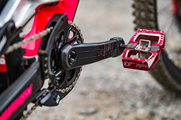 Red Crank Brothers Mallet DH Pedals