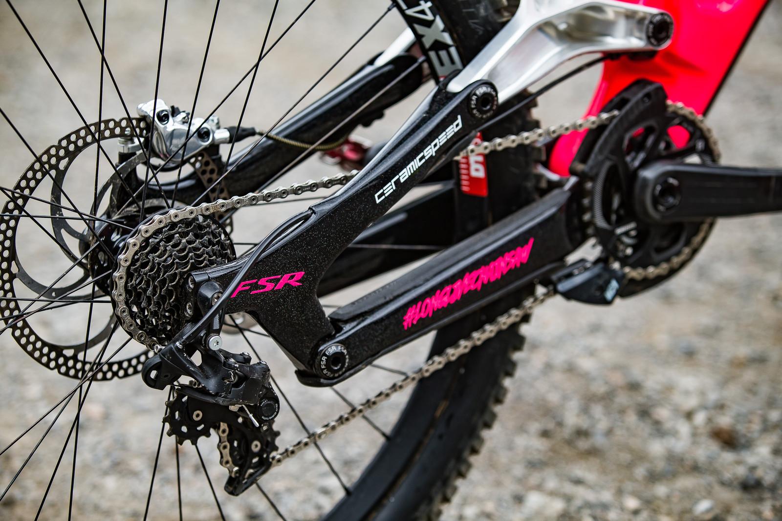 SRAM X0 DH 7-speed Drivetrain - WINNING BIKE: Finn Iles' Specialized S-Works Demo - Mountain Biking Pictures - Vital MTB