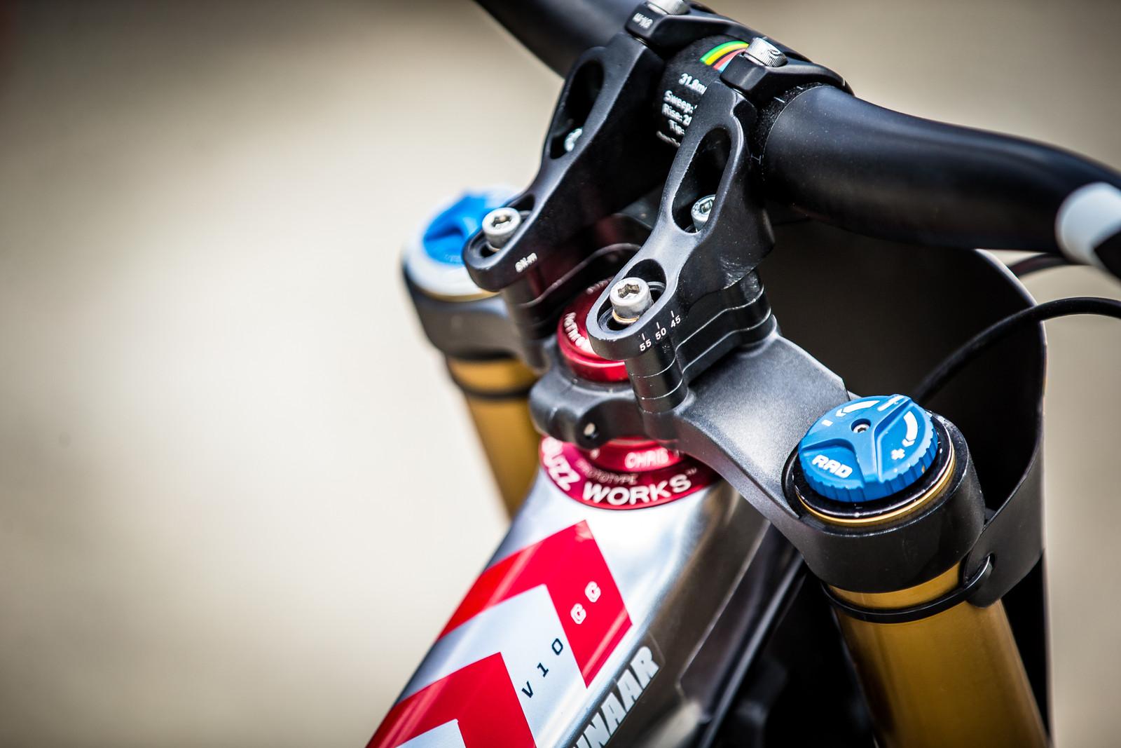 Cockpit - WINNING BIKE: Greg Minnaar's Santa Cruz V10 29er - Mountain Biking Pictures - Vital MTB