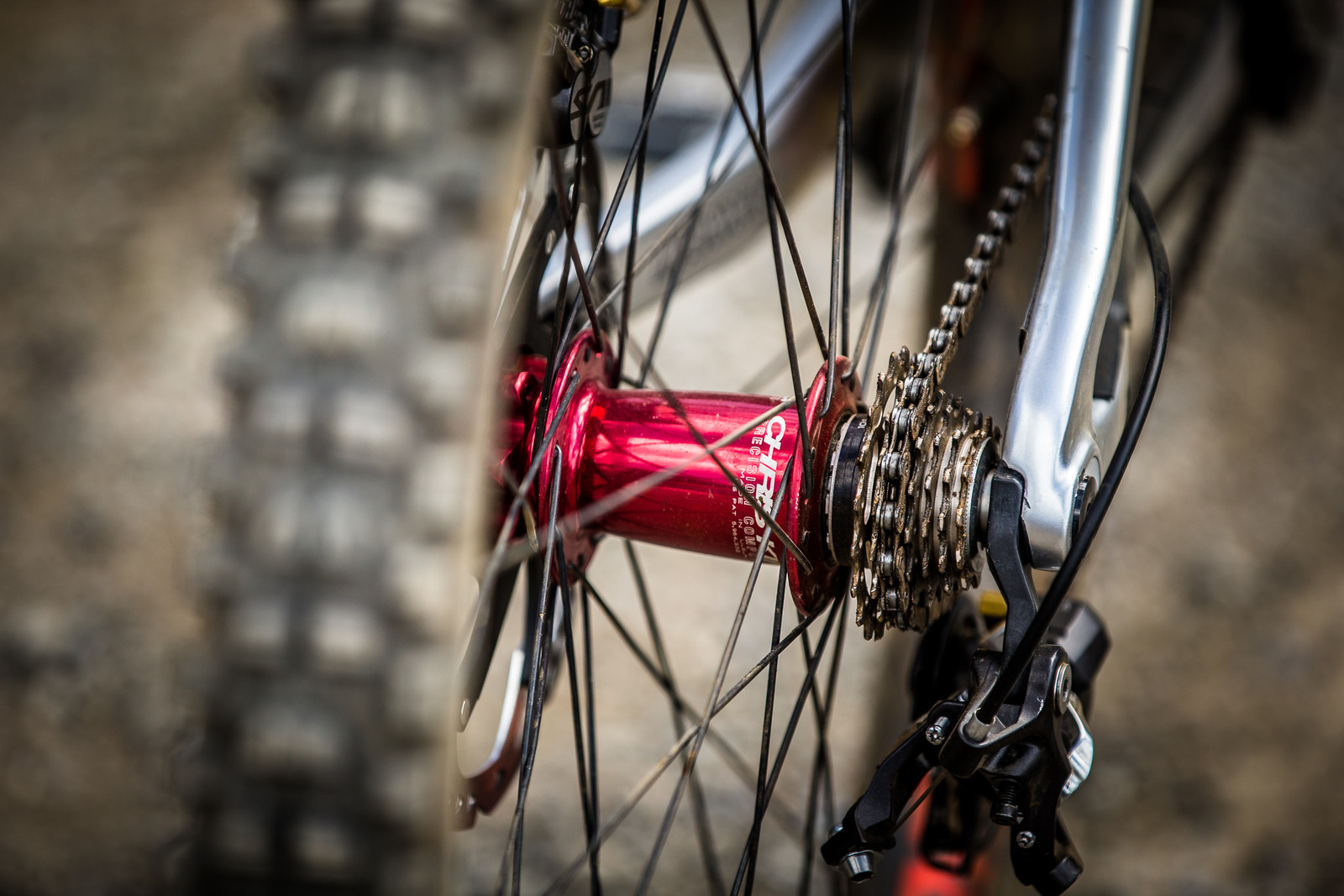 Chris King Prototype Hubs - WINNING BIKE: Greg Minnaar's Santa Cruz V10 29er - Mountain Biking Pictures - Vital MTB