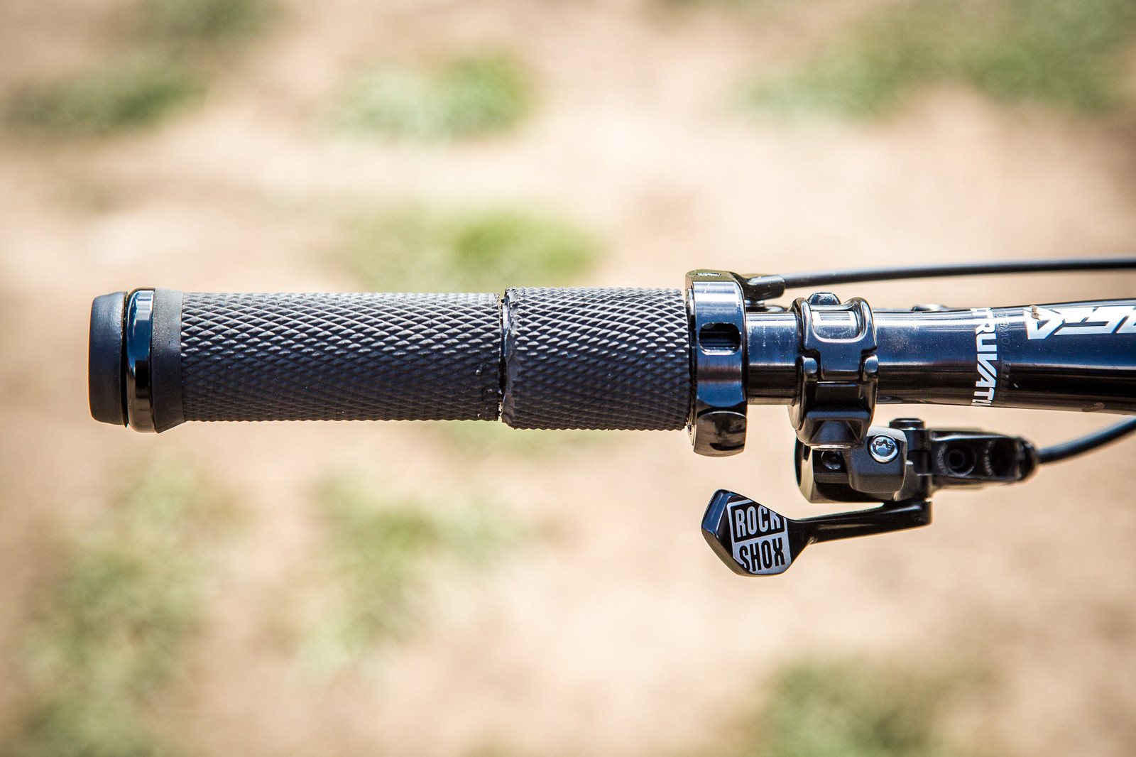 RockShox Twist-Shift Shock Lockout - PIT BITS - Enduro World Series, Aspen - Mountain Biking Pictures - Vital MTB