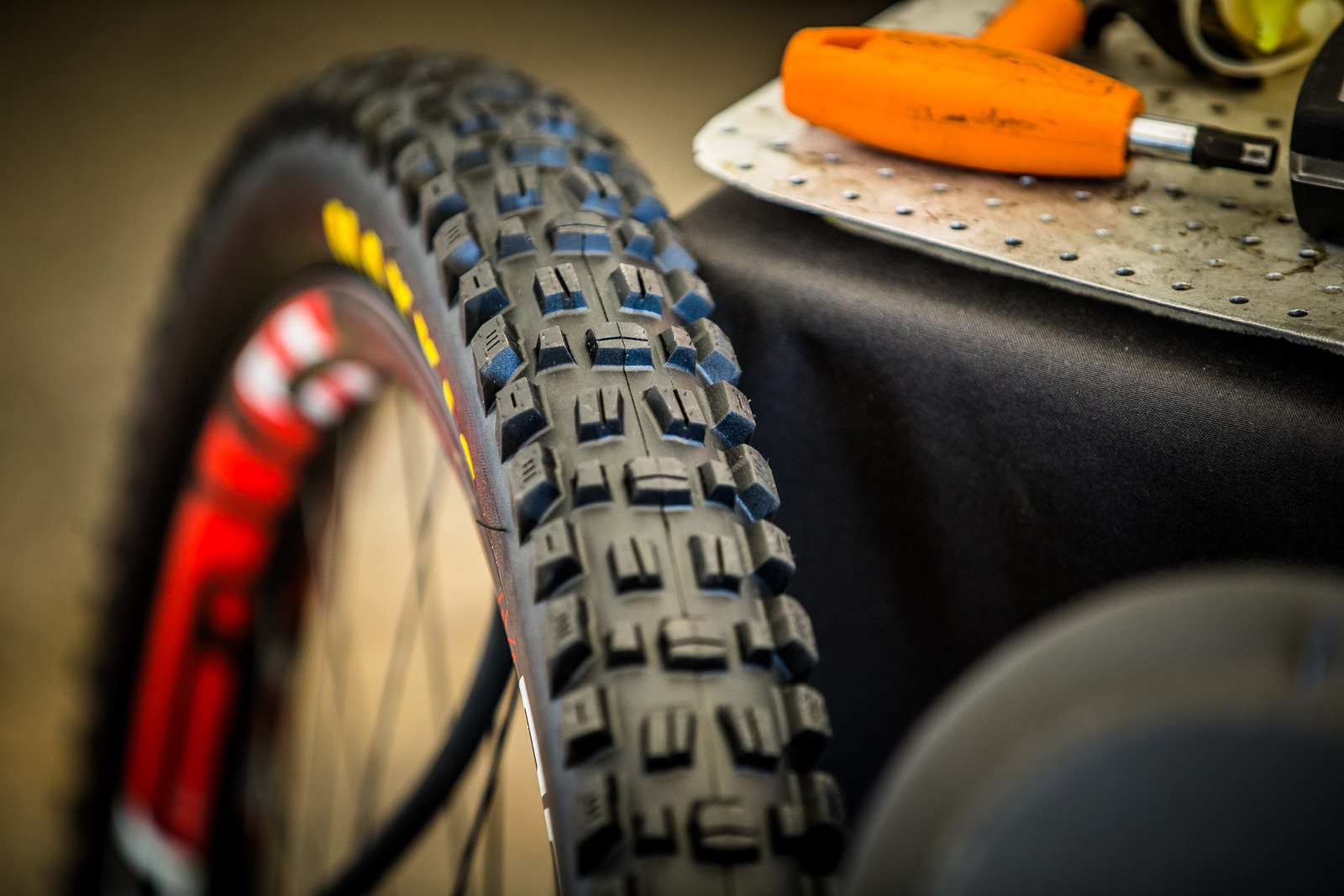 New Maxxis 29er DH Tires on Syndicate Bikes - PIT BITS - Mont-Sainte-Anne World Cup - Mountain Biking Pictures - Vital MTB