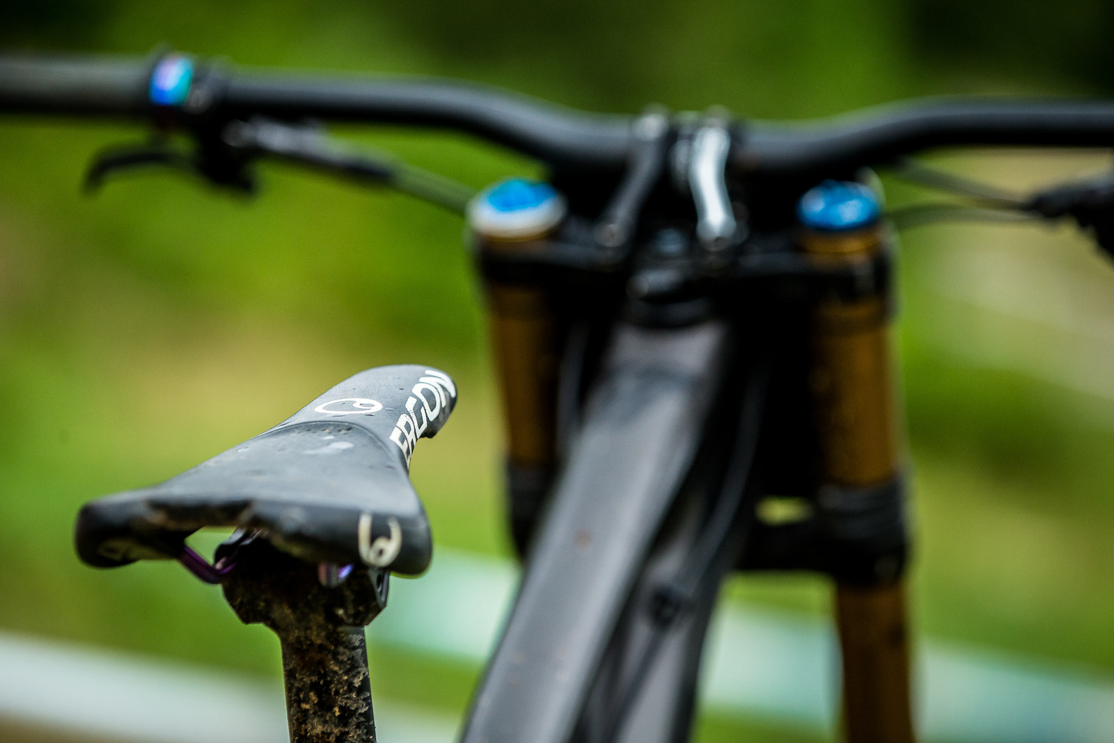Ergon SMD2 MTB Gravity Saddle - WINNING BIKE: Tahnee Seagrave's Transition TR11 - Mountain Biking Pictures - Vital MTB