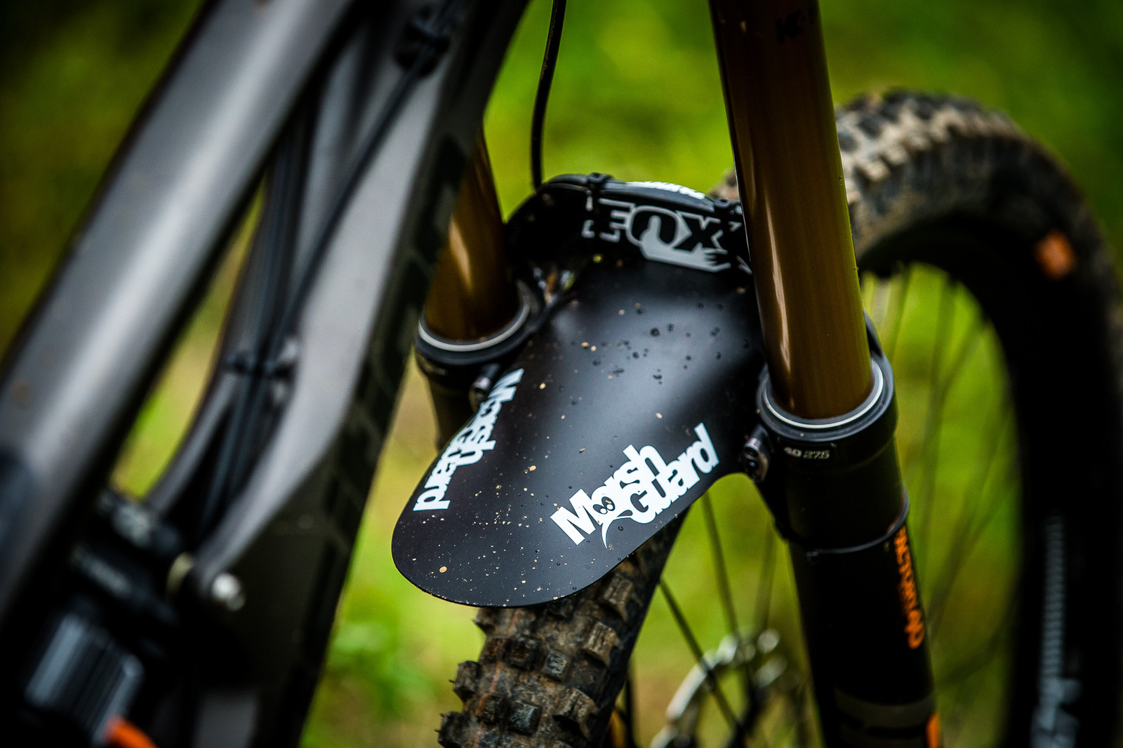 Marshguard is a Must - WINNING BIKE: Tahnee Seagrave's Transition TR11 - Mountain Biking Pictures - Vital MTB