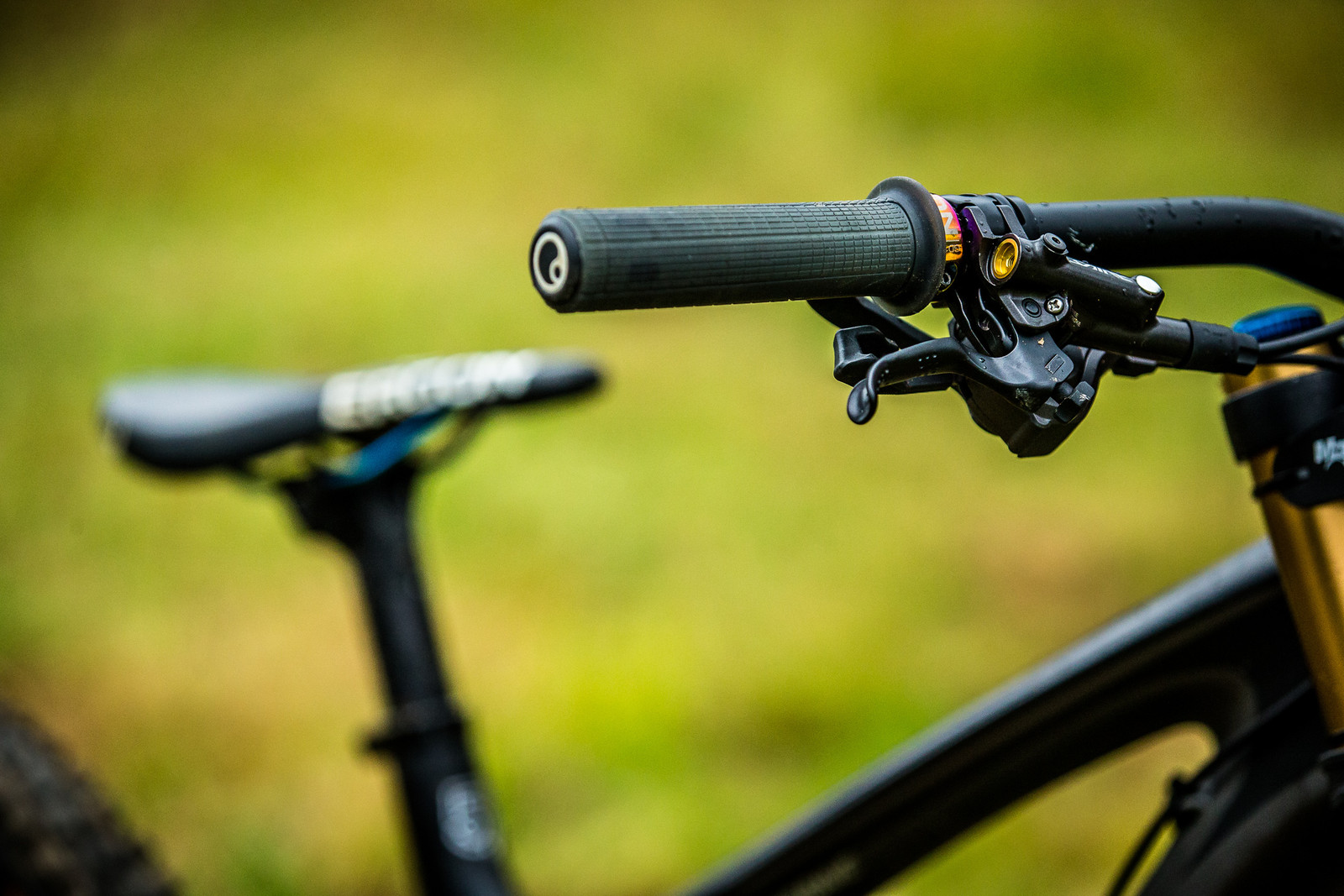 Ergon GD1 MTB Gravity Grips - WINNING BIKE: Tahnee Seagrave's Transition TR11 - Mountain Biking Pictures - Vital MTB