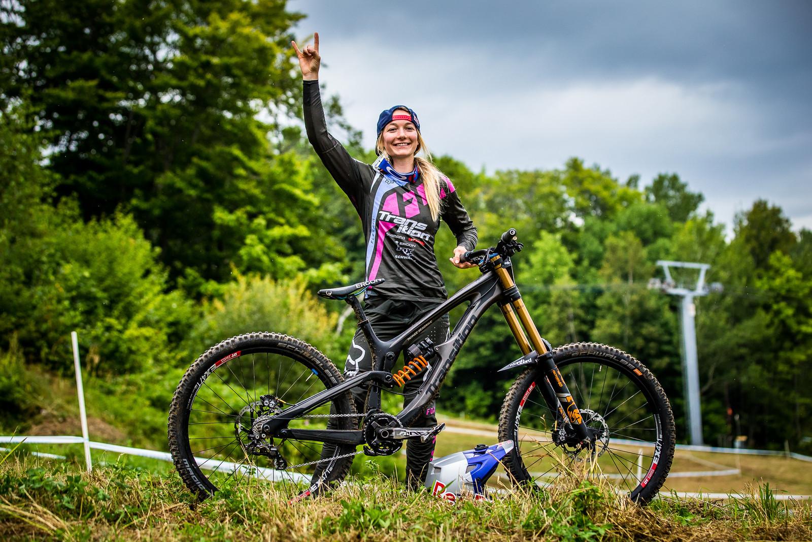MSA17 N3X3790 - WINNING BIKE: Tahnee Seagrave's Transition TR11 - Mountain Biking Pictures - Vital MTB