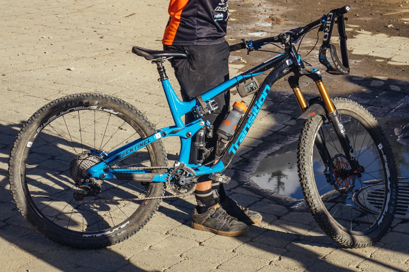Dan Wolfe's Prototype Transition Sentinel - PIT BITS - Crankworx Whistler - Mountain Biking Pictures - Vital MTB