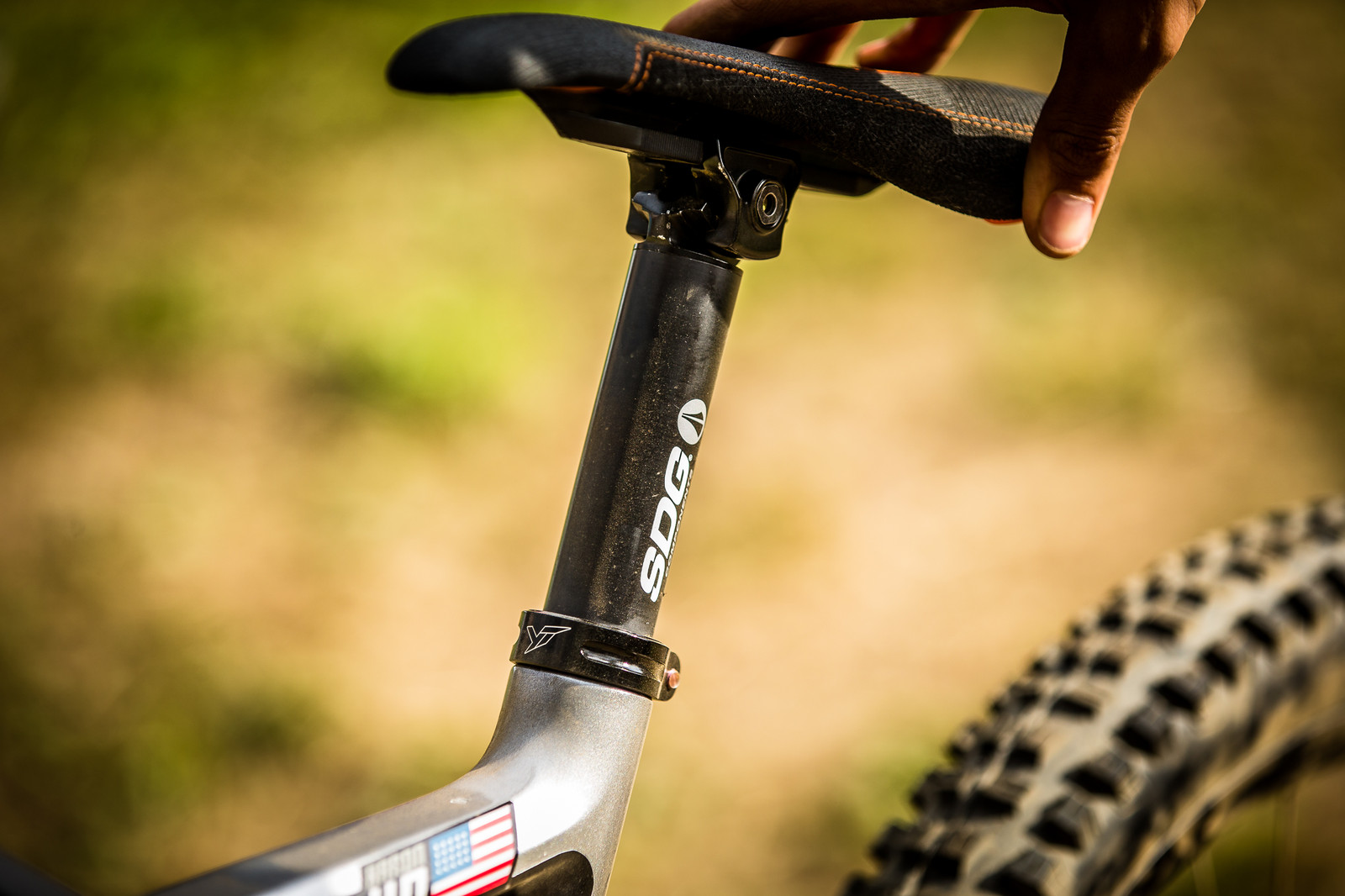 SDG I-Beam Saddle and Post - WINNING BIKE: Aaron Gwin's YT TUES - Mountain Biking Pictures - Vital MTB