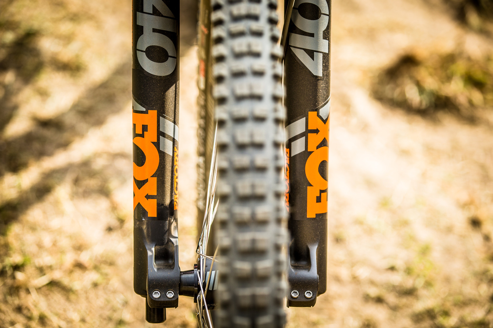 FOX 40 RC2 Fork - WINNING BIKE: Aaron Gwin's YT TUES - Mountain Biking Pictures - Vital MTB