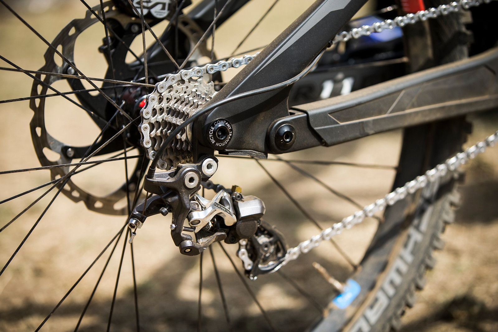 Shimano Saint Rear Derailleur - WINNING BIKE: Tahnee Seagrave's Transition TR11 - Mountain Biking Pictures - Vital MTB