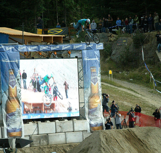 Crankworx 2006, You're Kidding, Right? - Crankworx of The Past - Photos from 2004-2007 - Mountain Biking Pictures - Vital MTB
