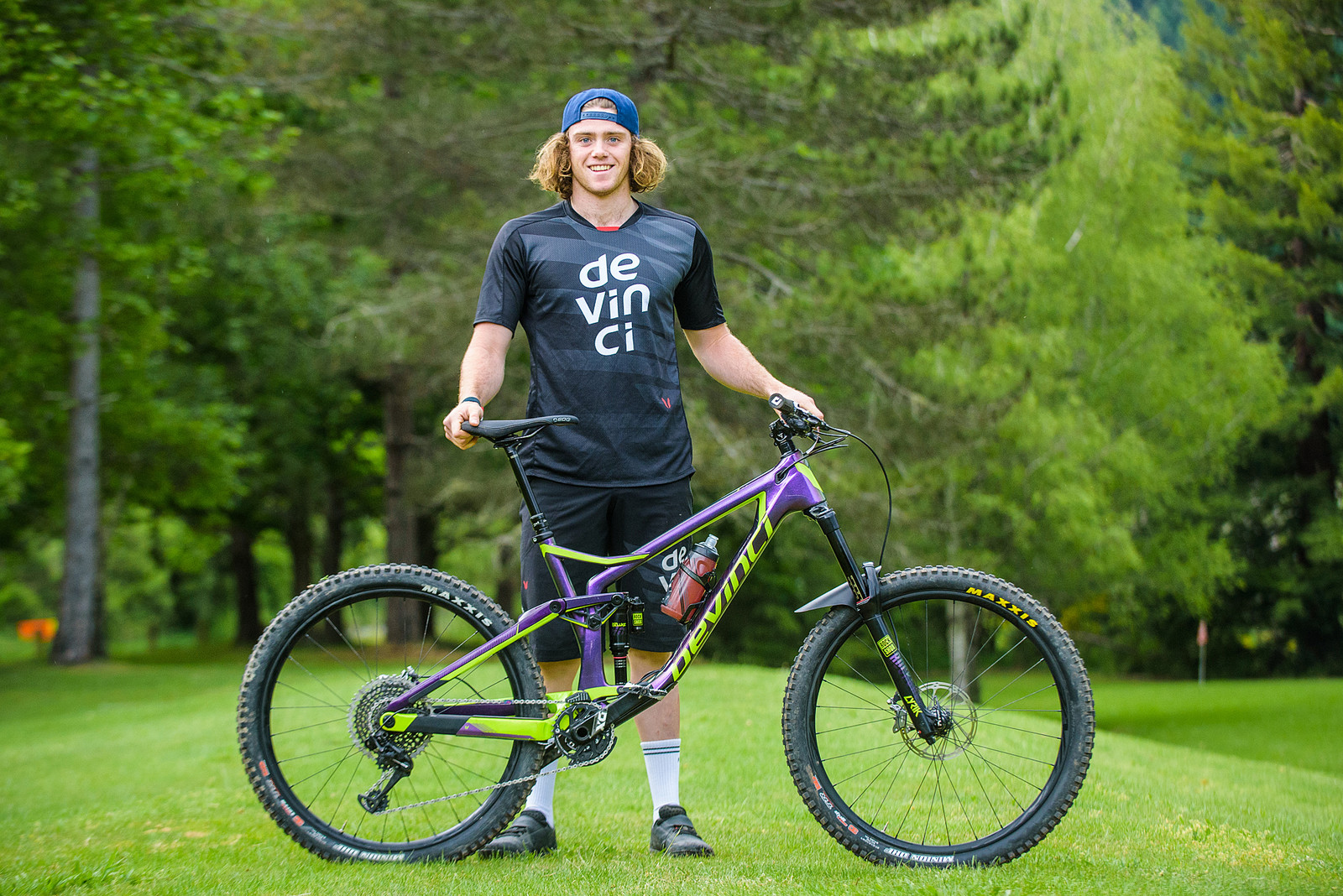 Pro Bike Check: Keegan Wright's Devinci Spartan Carbon - Pro Bike Check: Keegan Wright's Devinci Spartan Carbon - Mountain Biking Pictures - Vital MTB