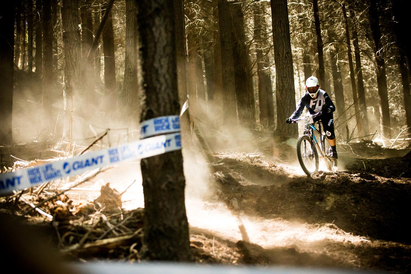 Pete Smoothing Out the Rough - Homegrown NZ Downhill - Vertigo Bikes Ride More DH Series Race 1 - Mountain Biking Pictures - Vital MTB