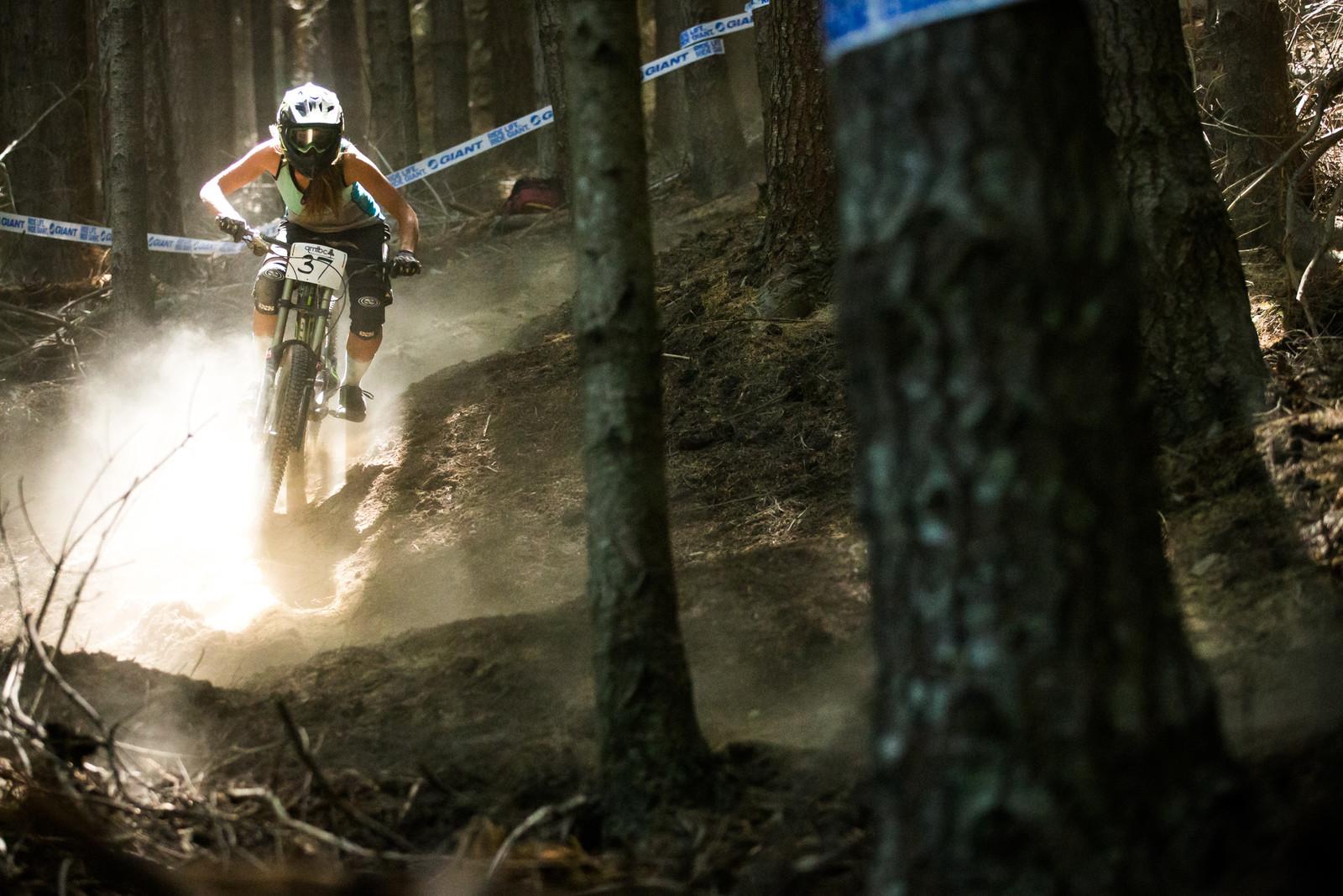Lucie Vodrazkova - Homegrown NZ Downhill - Vertigo Bikes Ride More DH Series Race 1 - Mountain Biking Pictures - Vital MTB