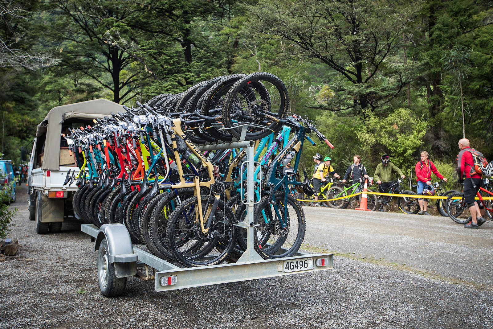 Now That's a Shuttle Rig - 2018 Dodzy Memorial Gallery & Race Report - Mountain Biking Pictures - Vital MTB