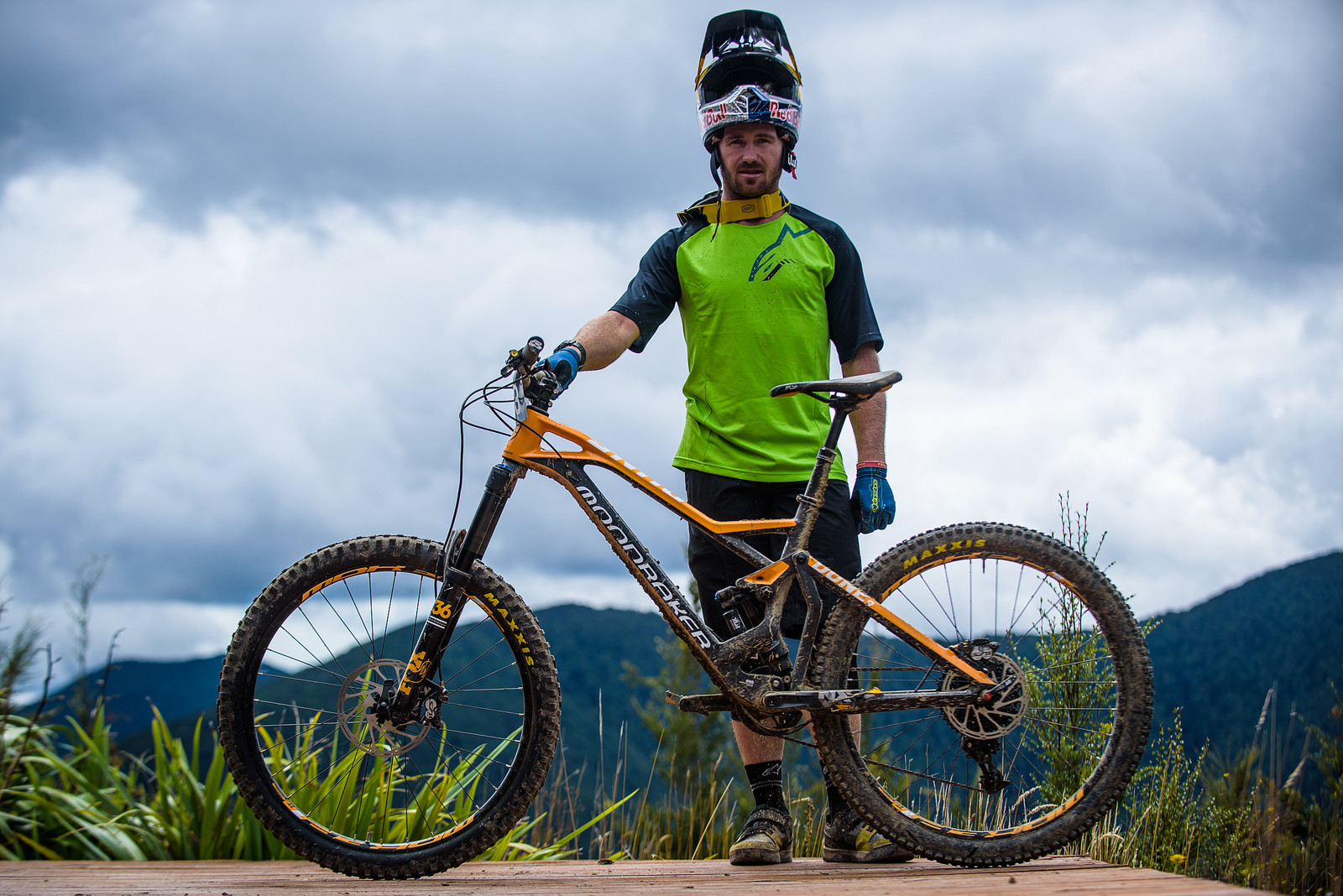 Brook MacDonald's Mondraker Dune - Pro Enduro Bikes from New Zealand - Mountain Biking Pictures - Vital MTB