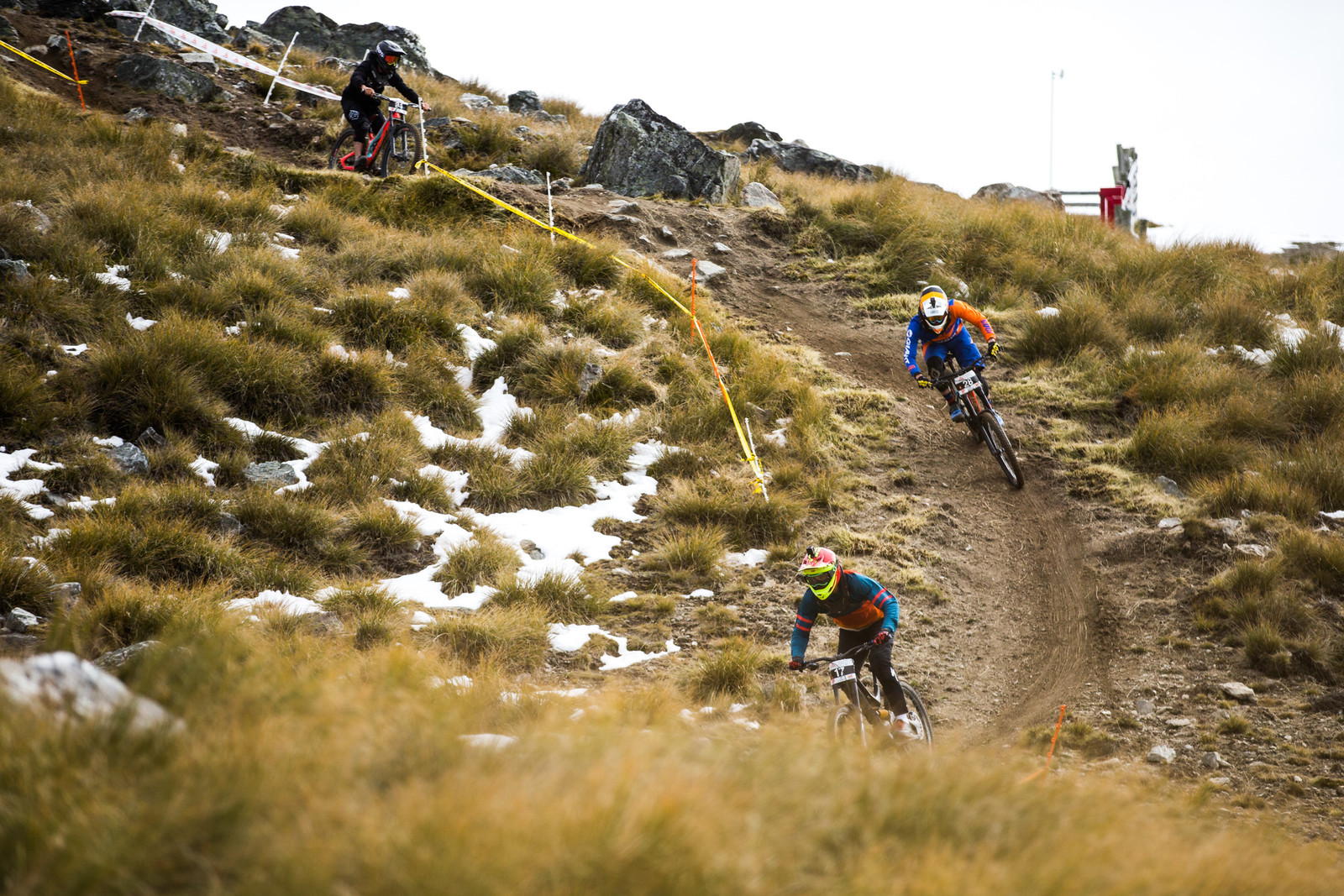Trains - Blenki, Brook & More - 2018 NZ National Champs Day 1 - Mountain Biking Pictures - Vital MTB