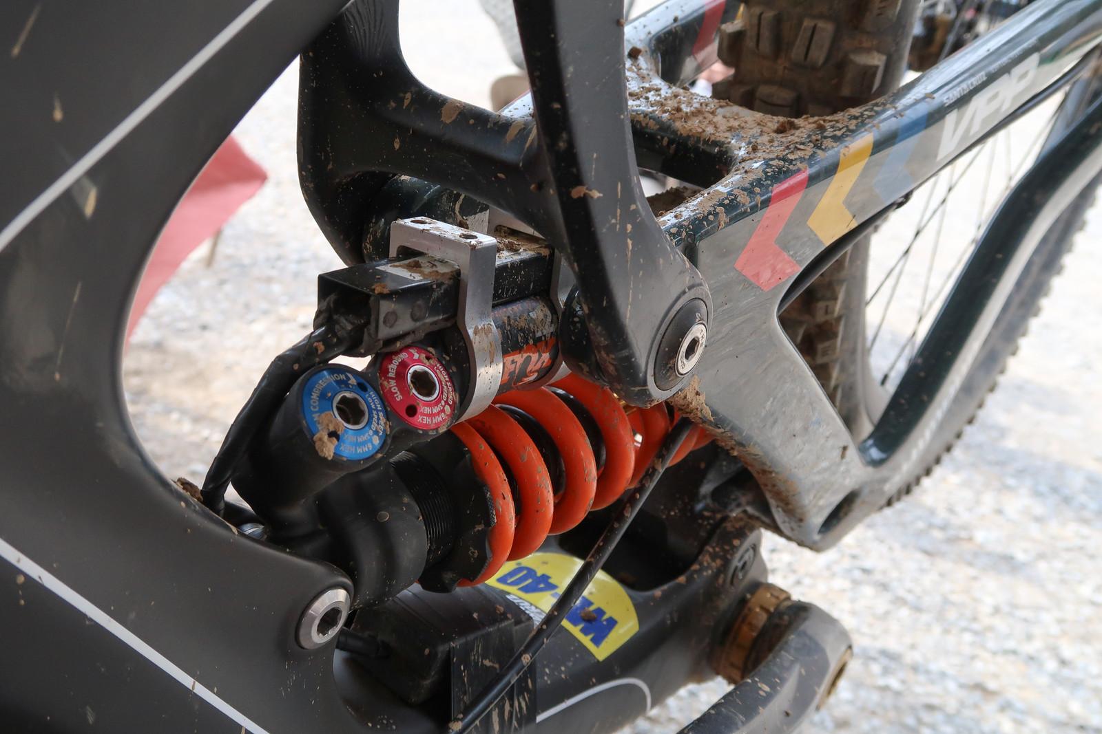 Minnaar's Data Acquisition Gear - PIT BITS - Windrock Pro GRT - Mountain Biking Pictures - Vital MTB