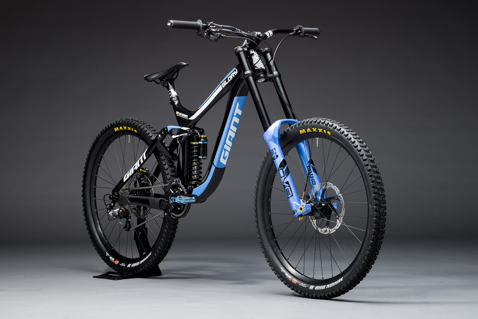 2018 Giant Factory Off-Road Team Bikes - Marcelo Gutierrez's Giant Glory Advanced - Giant Factory Off-Road Team Bikes - Mountain Biking Pictures - Vital MTB