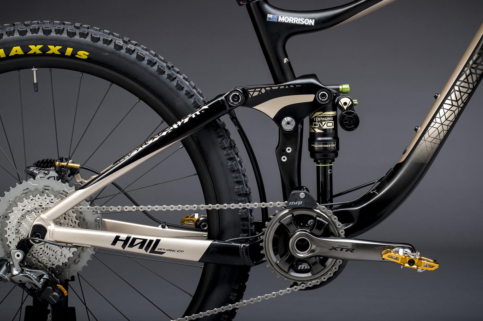Rae Morrison's Liv Hail Advanced - Giant Factory Off-Road Team Bikes - Mountain Biking Pictures - Vital MTB